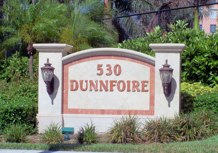 Dunnfoire Sign