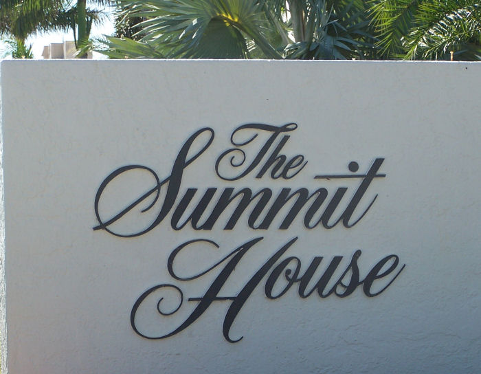 Summit House Sign