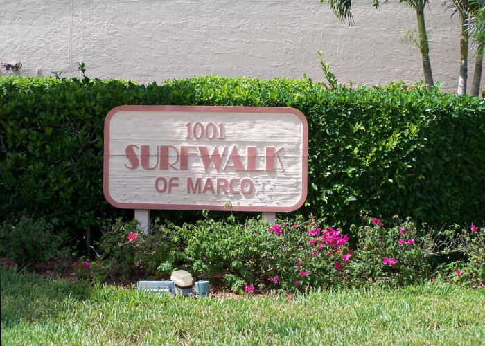Surfwalk Sign
