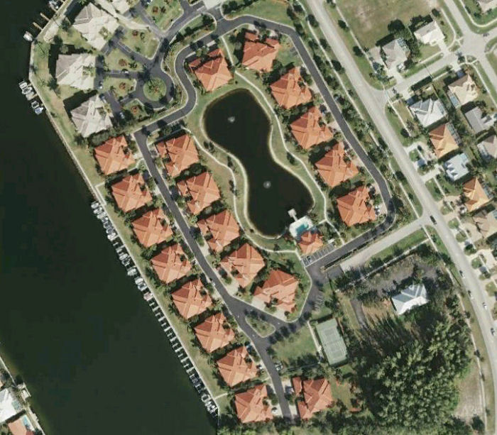 Villas At Waterside Air Photo